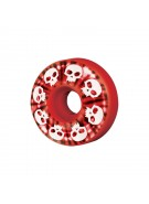 Zero Signature Skull Tye Dye (Set of 4) - 51mm - Red - Skateboard Wheels