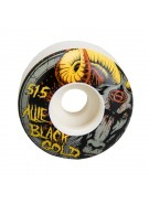 Gold Black Goat (Set of 4) - 51.5mm - Skateboard Wheels