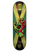Santa Cruz Rasta Hand Jammin Powerply - 31.7in x 7.8in - Skateboard Deck