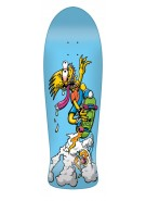 Santa Cruz Simpsons Bart Slasher Blue - 30.2in x 9.8in - Skateboard Deck