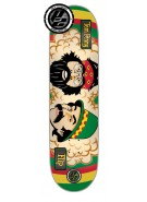 Flip Penny Rasta Cheech and Chong P2 31.5 in 8 in - Skateboard Deck