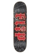 Flip Team Thrashed Black 32.15 in 8.23 in - Skateboard Deck