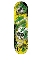 Creature Bingaman Cannibis - 32.2in x 8.3in - Skateboard Deck