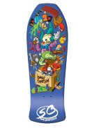 Santa Cruz Simpsons Bart Toybox - 29.5in x 10in - Skateboard Deck