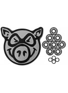 Pig Speedstars (8-Pack) - Skateboard Bearings