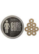 Girl Gold (8 Pack) Skateboard Bearings - ABEC 5
