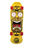 Santa Cruz Skate Simpsons Homer Face Cruzer 9.5in x 31in - Complete Skateboard