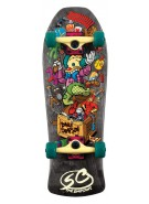 Santa Cruz Skate Simpsons Bart Toybox Mini Cruzer 8.8in x 26in  - Complete Skateboard