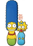 Santa Cruz Simpsons Marge And Maggie - 37.7in x 10.3in - Skateboard Deck
