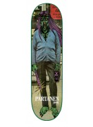 Creature Partanen Creeps Powerply - 31.9in x 8.1in - Skateboard Deck