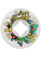 OJ 54mm Gall 4am Freddy White 99a - Skateboard Wheels