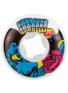 OJ 52mm Shuriken Afrodite White 101a - Skateboard Wheels