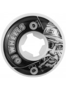 OJ 54mm Al Deez Team White 99a - Skateboard Wheels