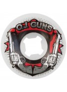 OJ 56mm Guns White 99a - Skateboard Wheels