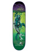 Creature Navarrette Cove Powerply - 32.5in x 8.8in - Green - Skateboard Deck