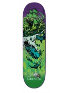 Creature Partanen Cove Powerply - 32.2in x 8.3in - Green - Skateboard Deck