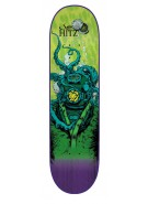 Creature Hitz Cove Powerply - 32.3in x 8.6in - Green - Skateboard Deck