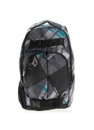 Volcom Equalibrium Plaid  - Grey/Black - Backpack