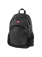 Vans Van Doren - Black/Charcoal Checker - Backpack