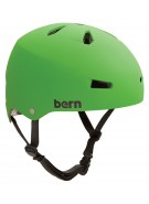 Bern Macon Hardhat Thin Shell CPSC - Neon Green - Helmet - Large
