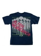 Alien Workshop Frequency Short Sleeve - Navy - Men's T-Shirt