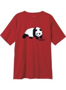 Enjoi Original Panda S/S Tee - Cardinal Red - T-Shirt
