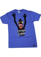 Almost Street Creep S/S Tee - Royal Heather - Mens T-Shirt