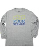 Four Square Stacker - ATH Heather - T-Shirt