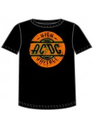 AC/DC High Voltage Logo - Black - Band T-Shirt