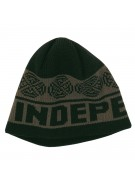 Independent Woven Crosses Skull Cap - One Size Fits All - Black/Ebony - Men's Beanie