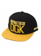 DGK Stacked - Black - Men's Hat