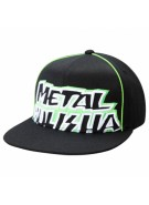 Metal Mulisha Fraction - Black / Green - Men's Hat - Large / X Large