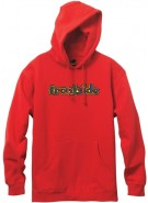 Blind Frontside/Backside Pull Over Hoodie - Red - Sweatshirt