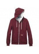 Enjoi Thick Like Fog Hooded Fleece - Burgundy - Sweatshirt