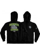 Thunder Zip Blow Up - Black/Green - Men's Sweatshirt