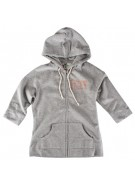 Roxy Ladies Back to Basics Heather Gray - Women's Sweatshirt - Medium