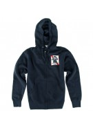 Fallen Ribbon - Navy / Red - Men's Sweatshirt