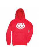 686 Wreath - Red - Men's Sweatshirt