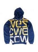 WeSC Logo Biggest - Men's Sweatshirts - Blue Depths