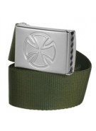 Independent Solo Web Belt Military Green OS Unisex - Belt