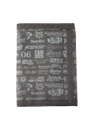Famous Stars and Straps Big Branded - Men's Wallet - Black