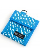 Rogue Status Gunshow 2 - Men's Wallet - Neon Blue / White Guns