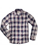 Altamont Burnnout - Navy - Men's Collared Shirt