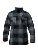 Burton Flag - Blotto Grey - Men's Jacket - Small