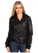 Obey Jealous Lover - Black - Women's Jacket - Large