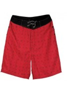 Underground Products Deuce - Red - Men's Bathing Suits - Size 28