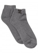 DC Ankle 5 Socks - Heather Grey - Men's Sock