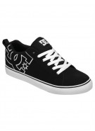 DC Court Vulc - Black/Black/White - Men's Shoes