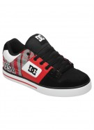 DC Pure XE - Athletic Red/Black - Men's Shoes