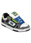 DC Stag -Armor/White/Soft Lime - Men's Shoes